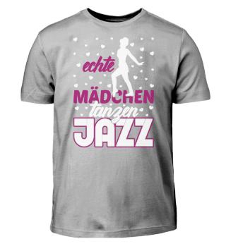 Echte Mädchen tanzen Jazz