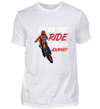 Enjoy The Ride Life Is A Journey Gift