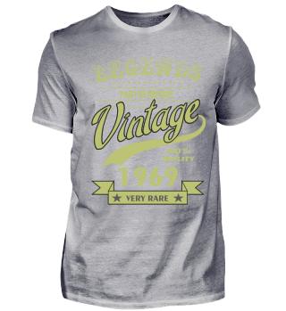 50. Geburtstag T-Shirt Vintage 1969