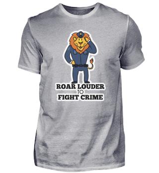 Leo police predator cat gift