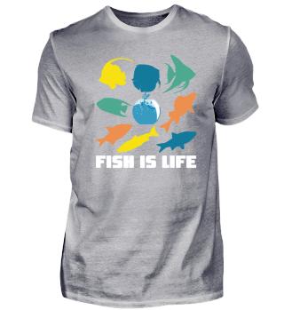 Fischaquarium Leben