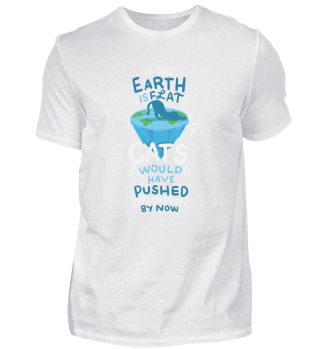 Lustige Katze Spruch Erde Scheibe