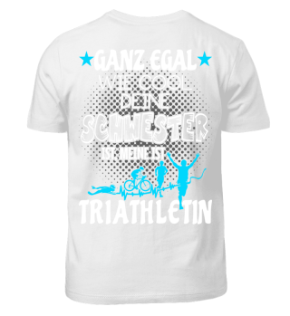 Triathlon Kinder Schwester Triathletin