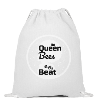 Queen Bees Baumwoll Gymsac schwarz