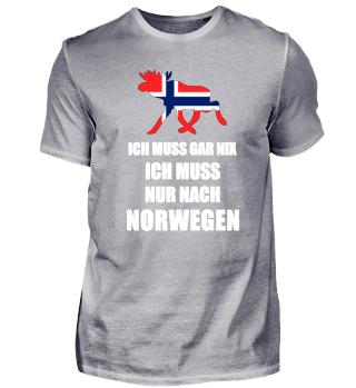 Ich Muss Gar Nix Ich Muss Nach Norwegen