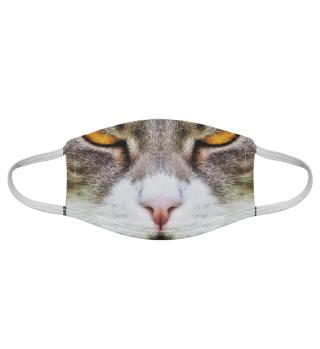 Gesichtsmaske mit Katzenmotiv 20.40