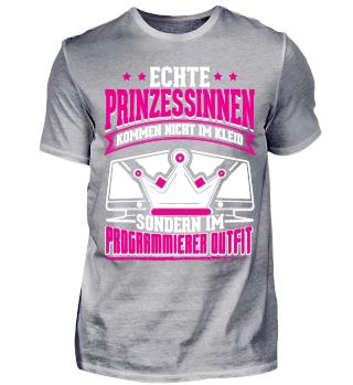 Programmierer Shirt Prinzessin