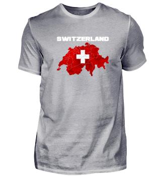 Schweiz Schweizerisch Flagge Geschenk