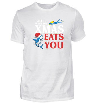 All i want for XMAS eats you.