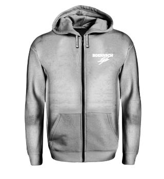 unisex zip hoodie bonn ist king