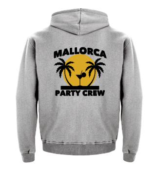Mallorca Party Crew Geschenk
