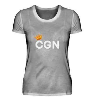 CGN mit Narrenkappe Damen Shirt