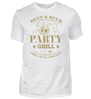 ☛ Partygrill - Grillen & Chillen - Pork #4G