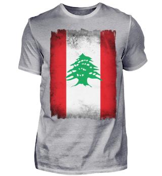 ►Libanon Flagge
