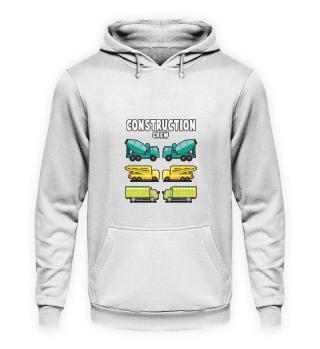 Konstruktion Fahrzeug Gruppe T-shirt Ges