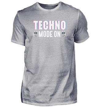 Techno Mode On Tekkno Festival Party Gift