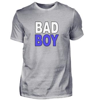 Bad Boy Statement Blau Sohn
