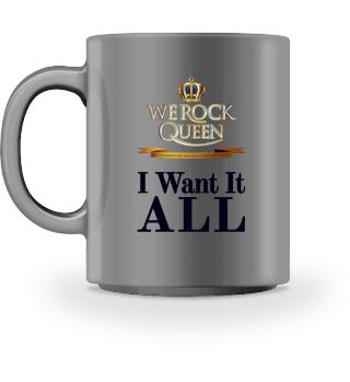 WE ROCK Queen - Tasse ALL