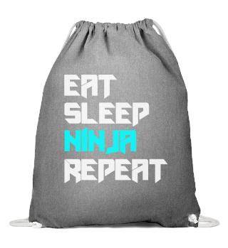 Eat Sleep Ninja Karate Repeat