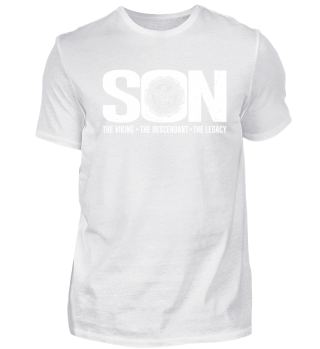 Sohn Kind Wikinger Viking Spruch Shirt