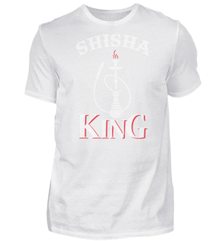 Trendy Shisha King Spruch Design
