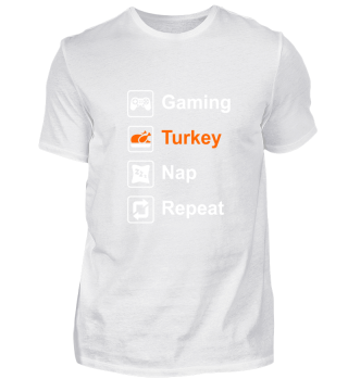 Gaming Thanksgiving | Gamer Turkey Nap
