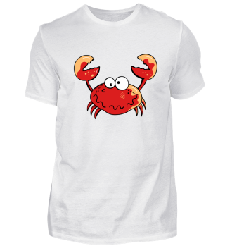 Lustiger Krebs I Krabbe I Meerestiere