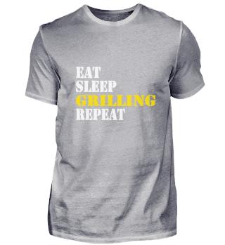 eat sleep grilling repeat