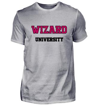 Wizard University Geschenk Idee schwarz