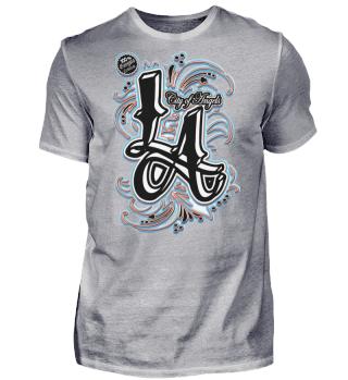 Herren Kurzarm T-Shirt LA Ramirez