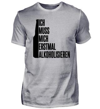 Alkoholisieren Alkohol Trinken Saufen