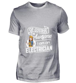 D001-0524A Female Electrician Elektriker