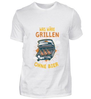 Barbecue without beer Grillmeister Party