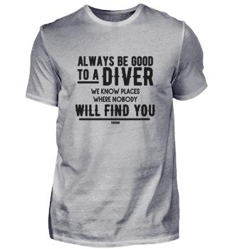 Diving Tauchen Spruch Wasser Meer