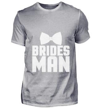 Braut-Mann-Junggeselle-Party-T-Shirt