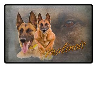 Fußmatte Malinois