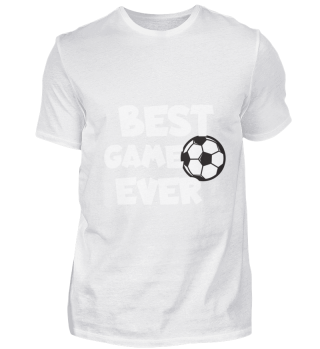 Football Best game ever white