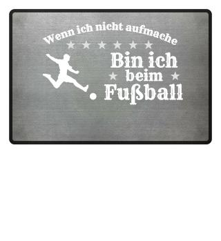 Bin ich beim Fußball