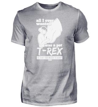 T-Rex Dinosaurier Mädchen Kind Muttertag
