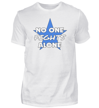 No One Fights Alone Cancer Star