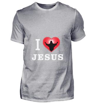 D001-0028A I Love Jesus - Christentum