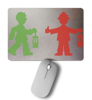 Mousepad – Bergmannsampel