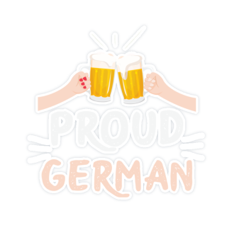 Germany proud German beer measure