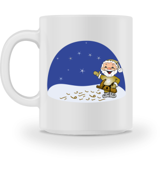 Weihnachtsmann-Schreiner