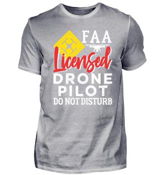 DRONE PILOT FAA LICENSED