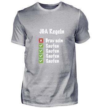 JGA Regeln - Saufe Saufe Saufen