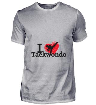 D001-0065B I love Taekwondo Sport