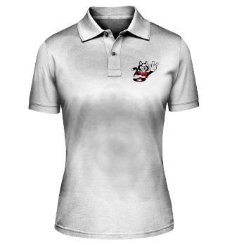 Poloshirt Katze