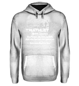 Triathlon - Triathlet Wörterbuch