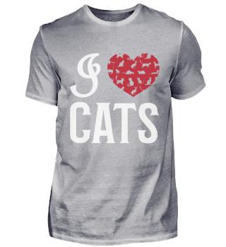 Ich liebe Katzen / I Love Cat's